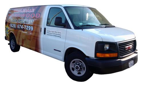 Chevy Express Van Graphics, express Cargo Decals, Express van White ...