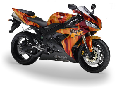 Motorcycle Wraps Bike Graphics Biking Decals Motor Bike Wrapped - Custom vinyl decals motorcycles