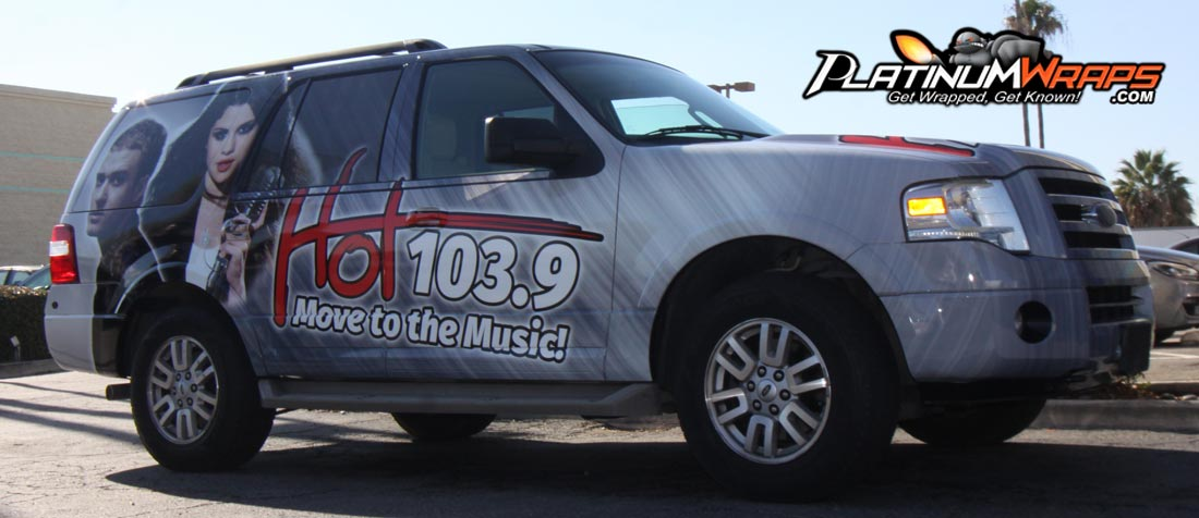 Ford Expedition Wrap Radio Station Platinum Wraps