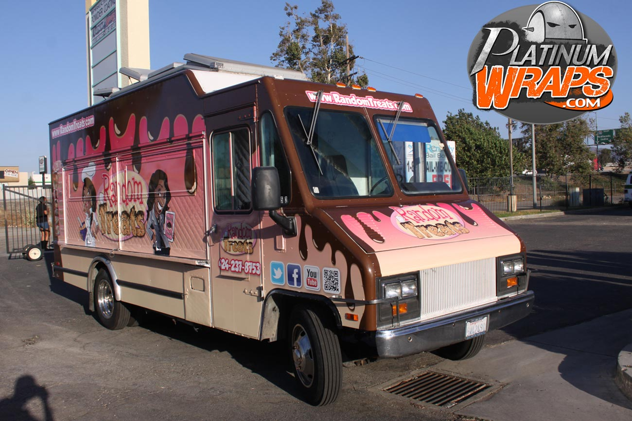 Food Truck Wraps Los angeles