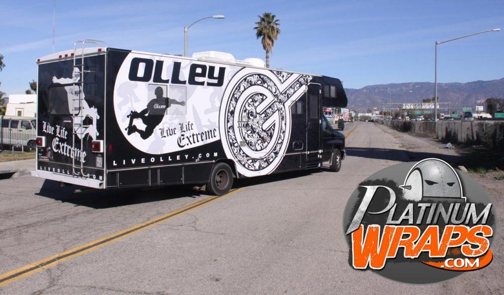 Rv Bus Wraps - Platinum Wraps