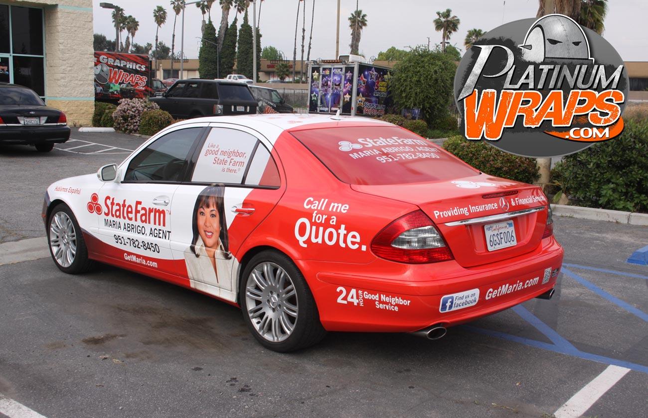State Farm Quote Car Statefarmwrapbenz2  Platinum Wraps