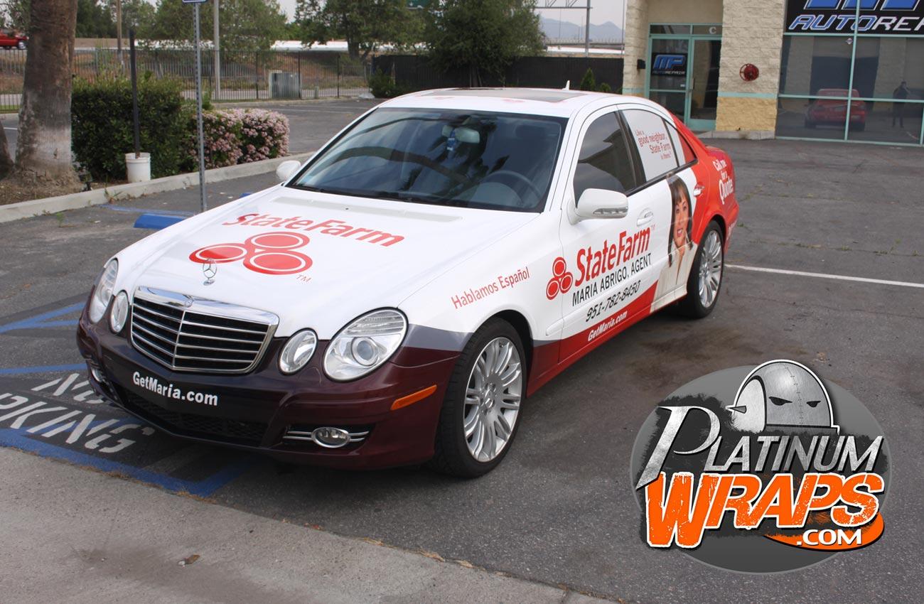 State Farm Quote Car Statefarmwrapbenz3  Platinum Wraps