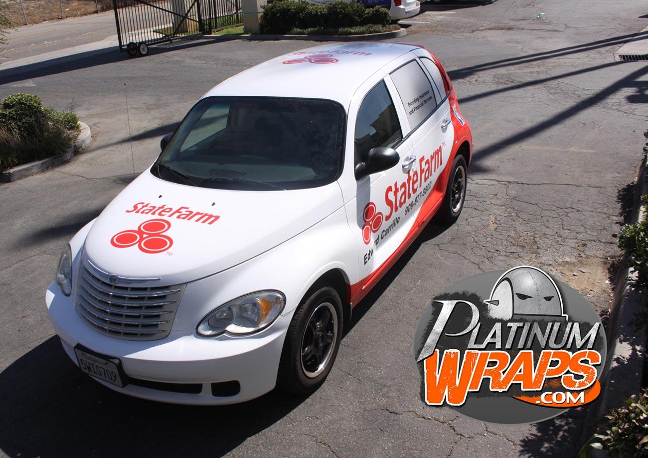 State Farm Quote Car Statefarmwrapptcruiser2  Platinum Wraps