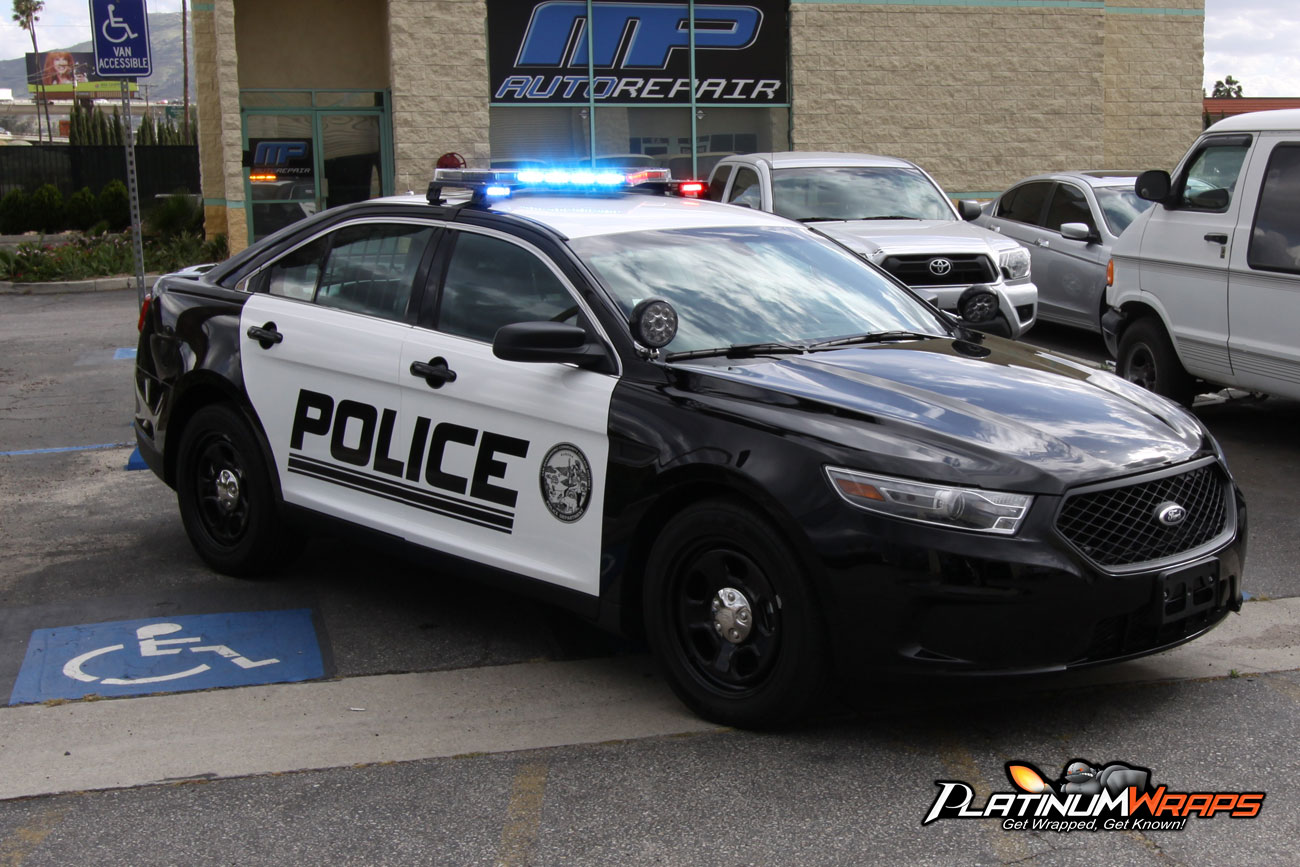 Police Patrol Security Decals Wrap Graphics