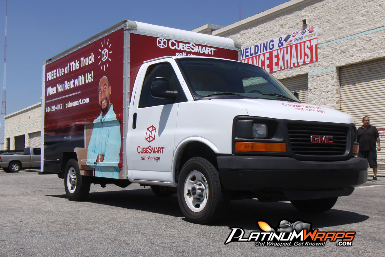 Box Truck Wraps | Commercial Vehicle | Utility Truck Graphics