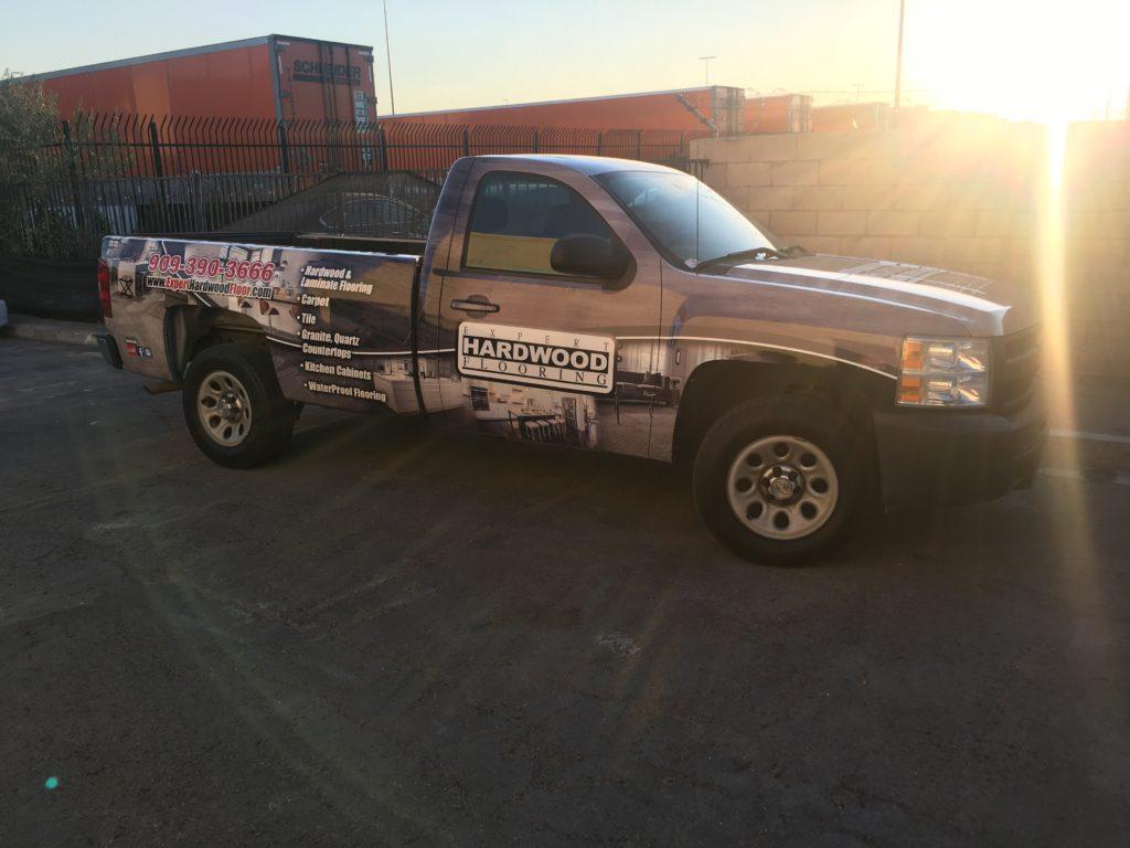 Ontario Ca Car Wraps Truck Platinum Wraps
