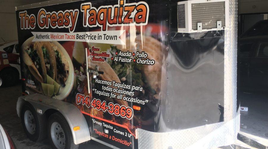 Trailer wrap for taco wrap